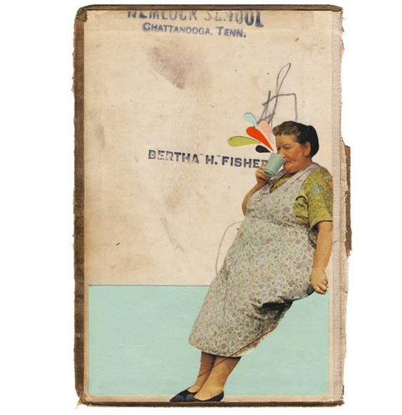 Bertha, 2016, mixed media