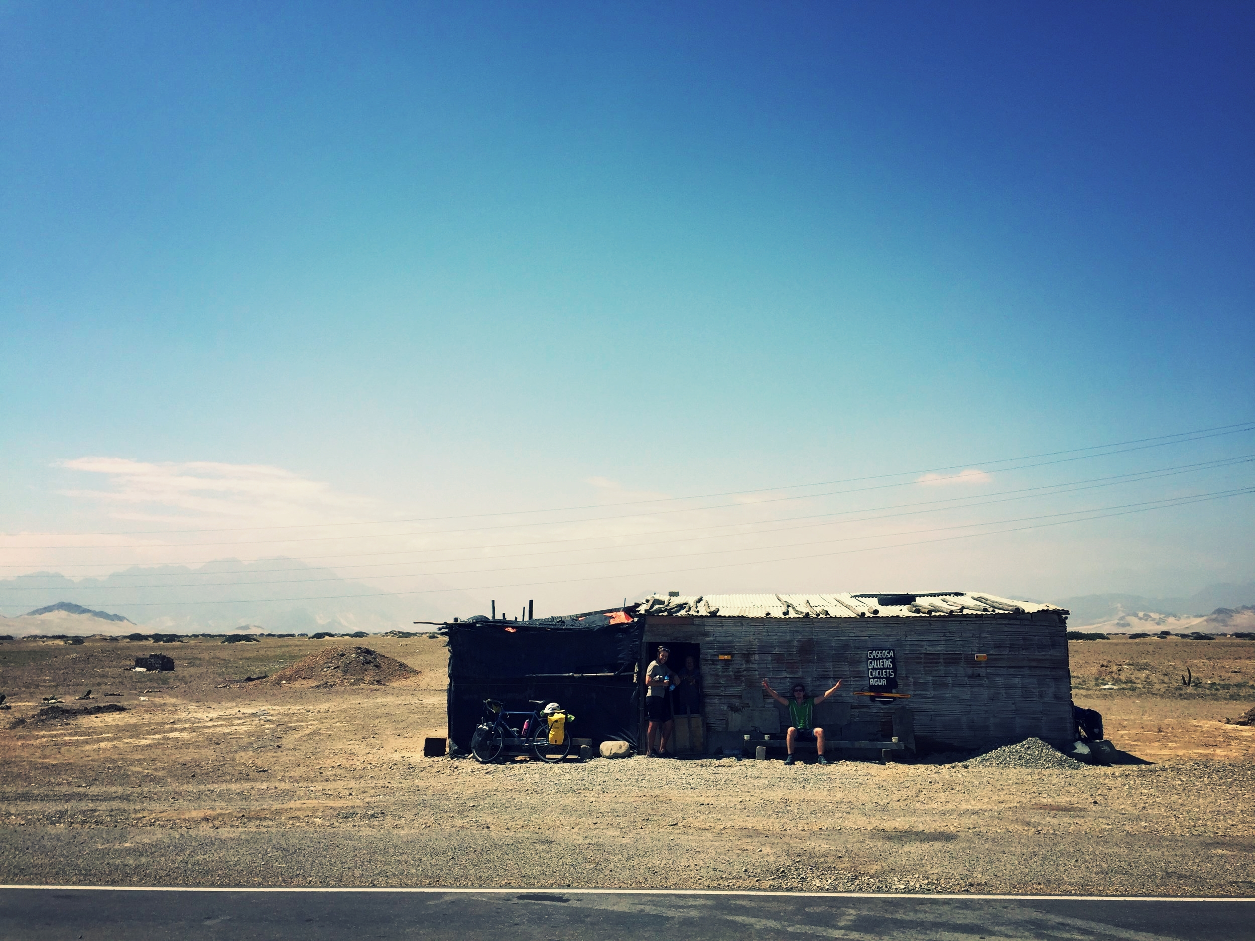 This food shack made for a great lunch spot; the only building for 250 kilometres.
