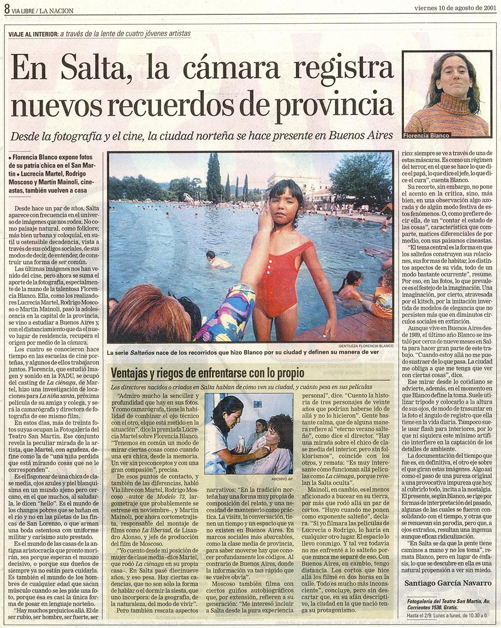<strong>Diario La Nación</strong> 2001