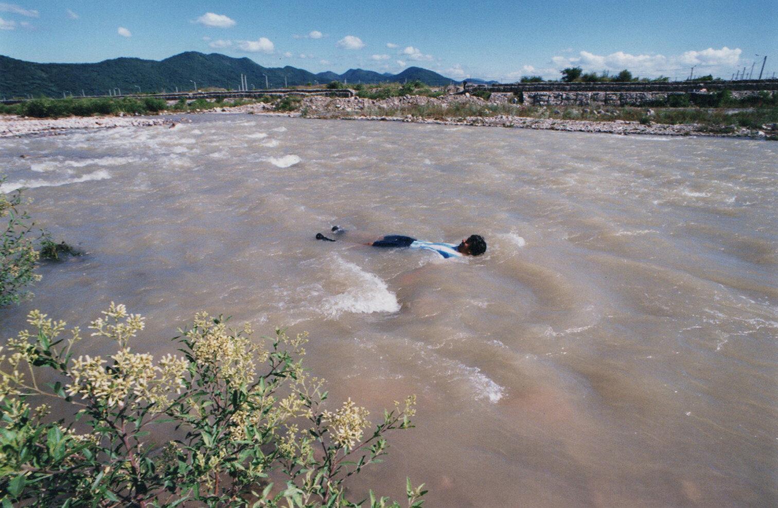 38 Río Vaqueros Vaqueros river 1999.jpg
