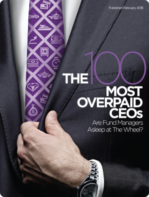 The 100 Most Overpaid CEOs 2018 — As You Sow