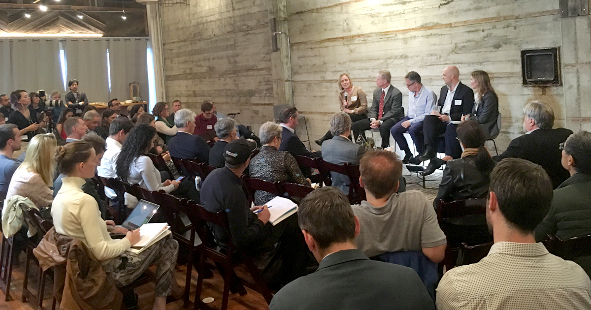 Danielle Fugere, president at  As You Sow , moderated the Transition Planning in the Oil & Gas Sector panel at an affiliate event of the Global Climate Action Summit.