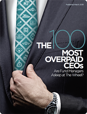 The 100 Most Overpaid CEOs 2019 — As You Sow