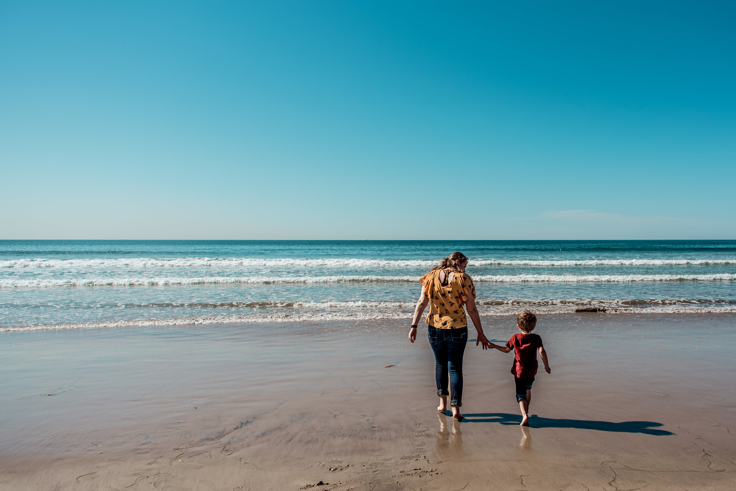 Pacific Beach Family Session Violets and Clementines Photography San Diego