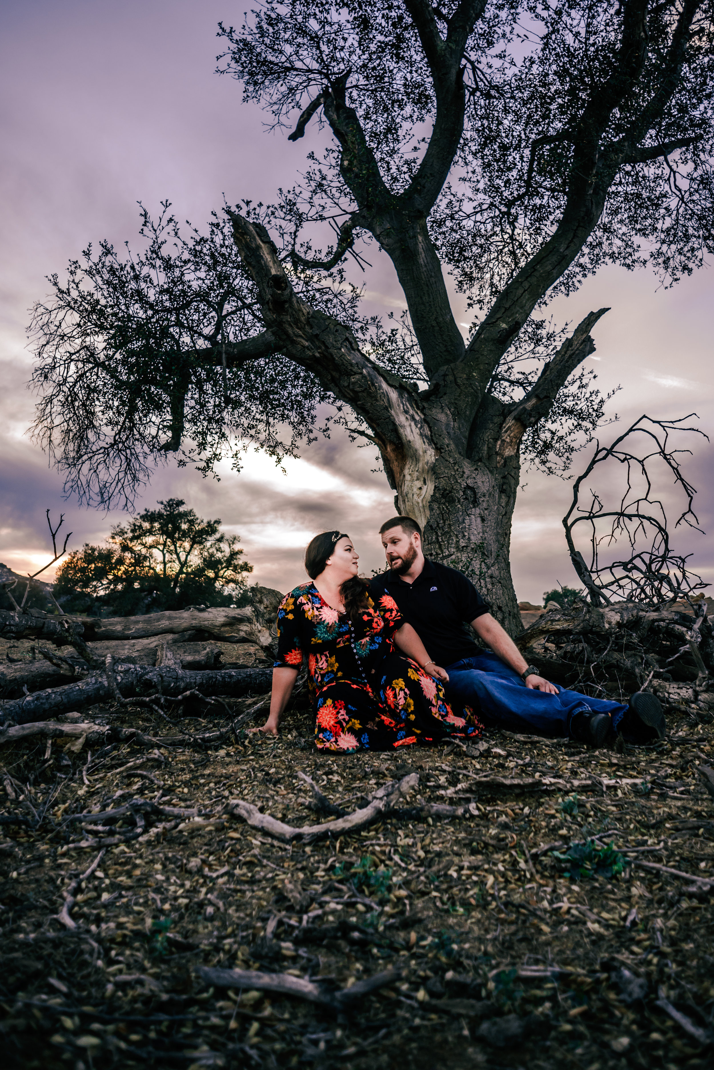 Ramona Grasslands Haunted trees Violets and Clementines Photography San Diego