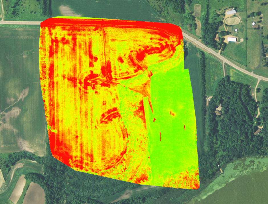 Drone Mapping Madison Wisconsin Agriculture Plant Health NDVI