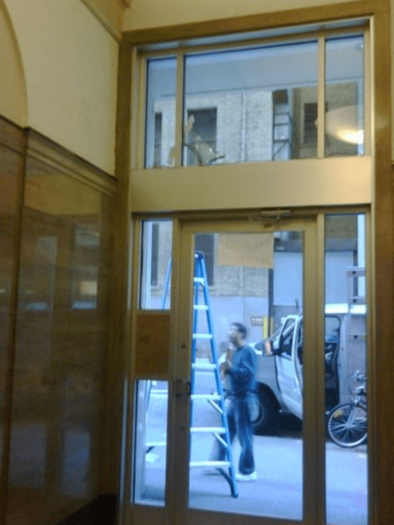 Custom Glass Storefront Manufacturing