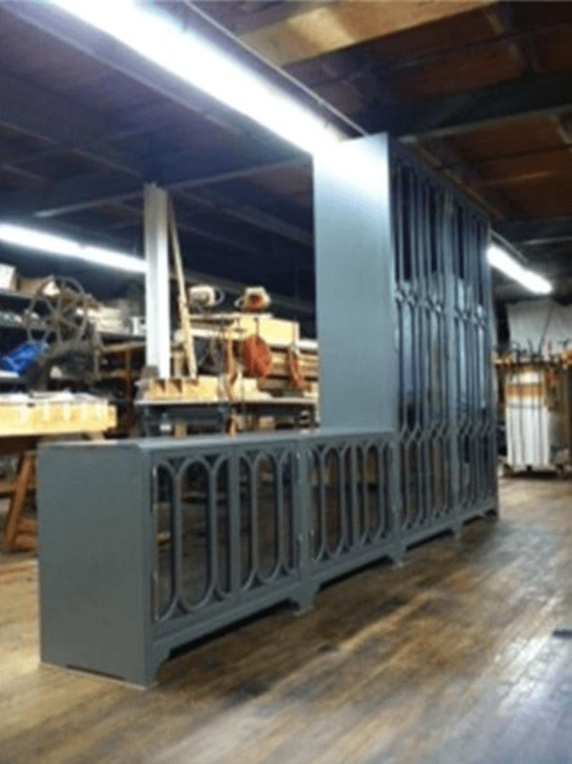 Intricate Custom Cabinet Design