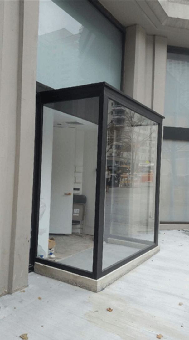 Exterior Glass Installation