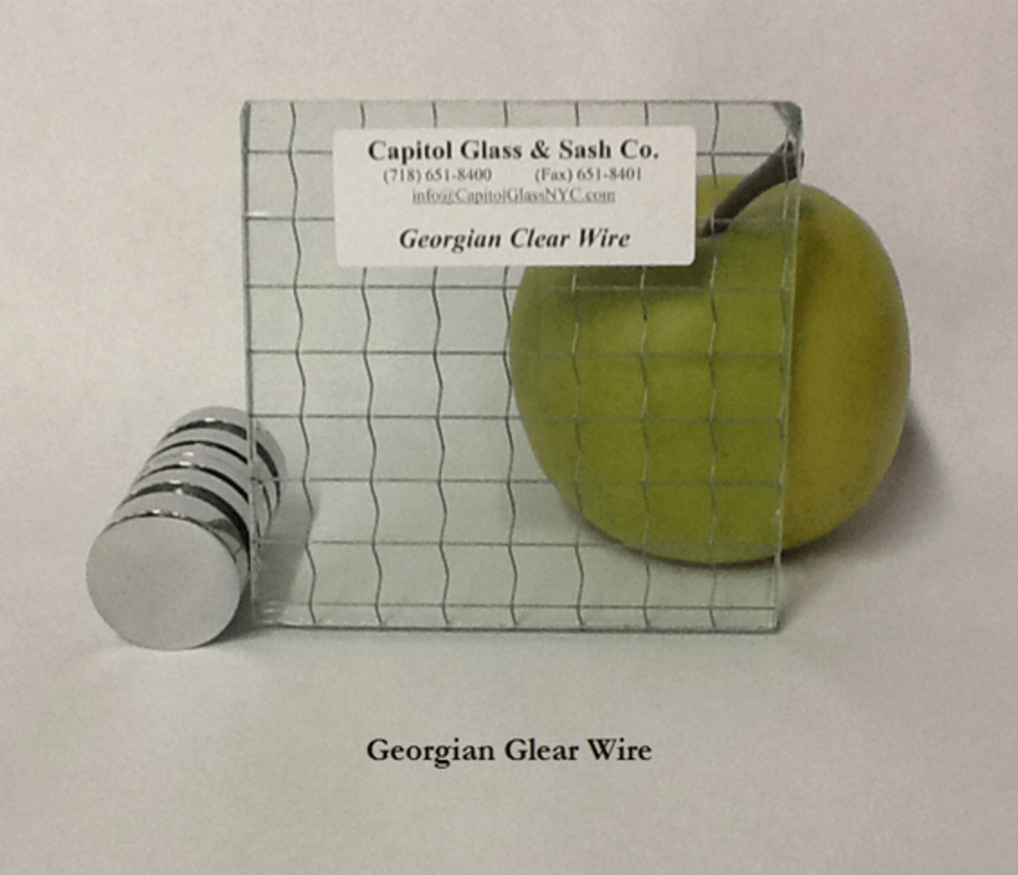 An example of custom glass by Capitol Glass