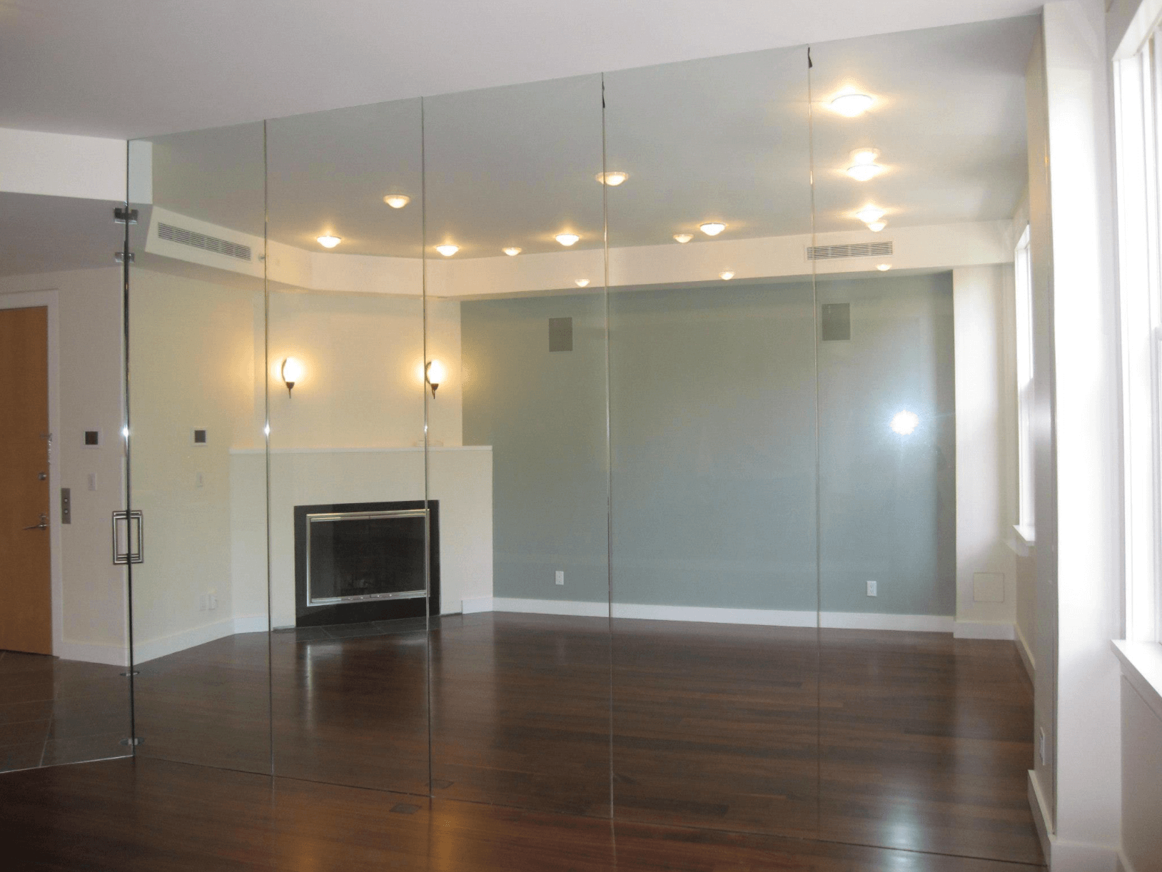 Floor-To-Ceiling Mirrors