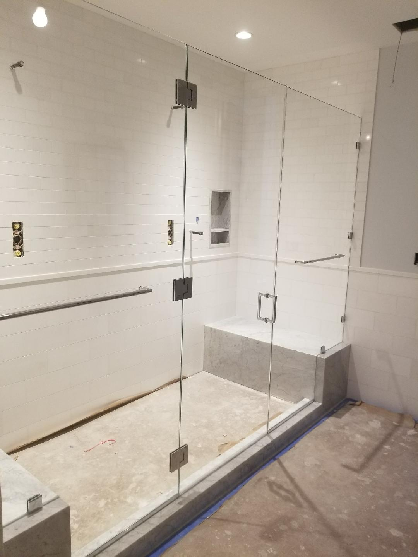 Sturdy Glass Doors
