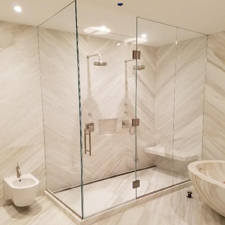 Sleek and Sturdy Shower Doors