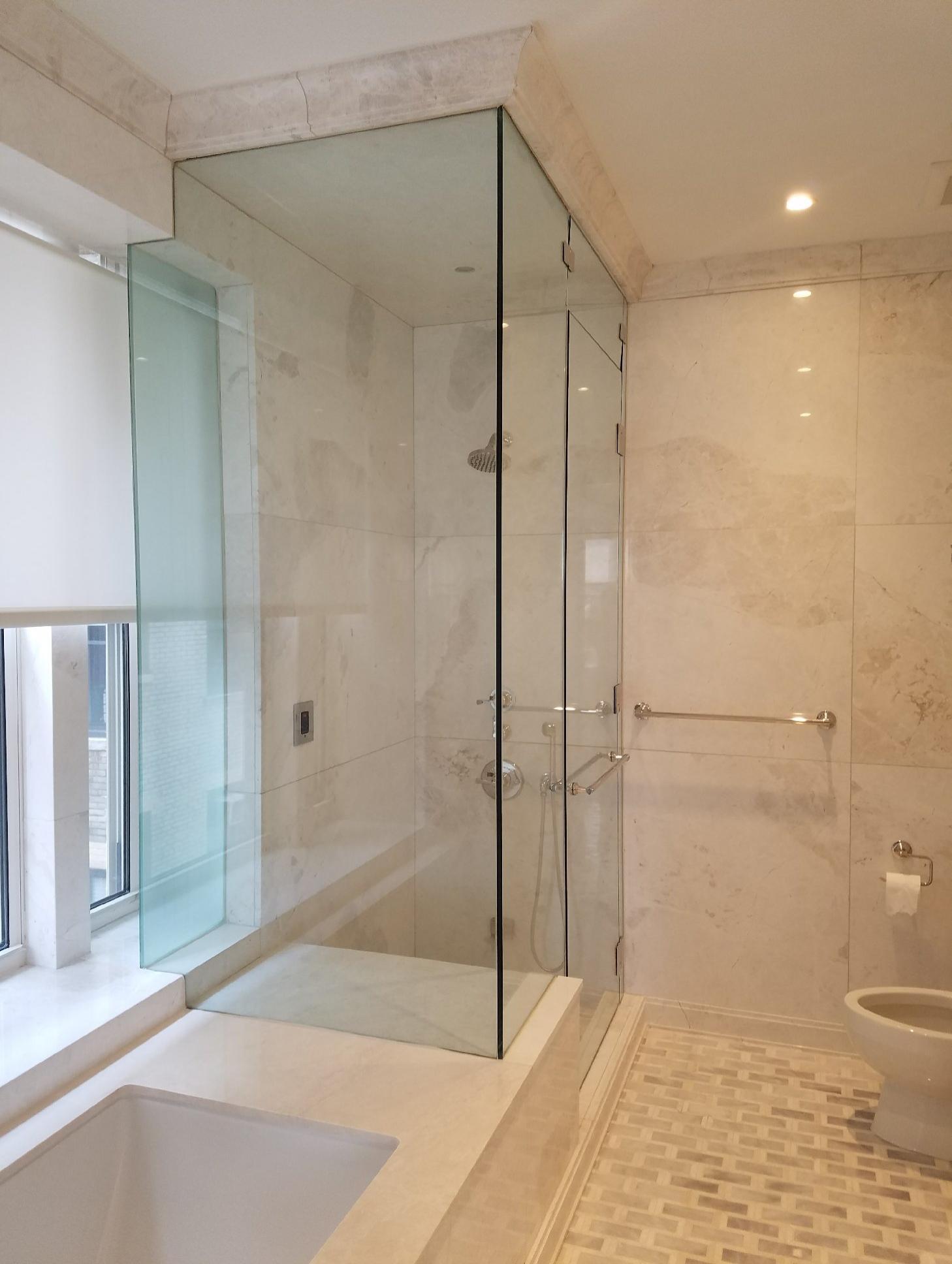 Sleek Shower Doors