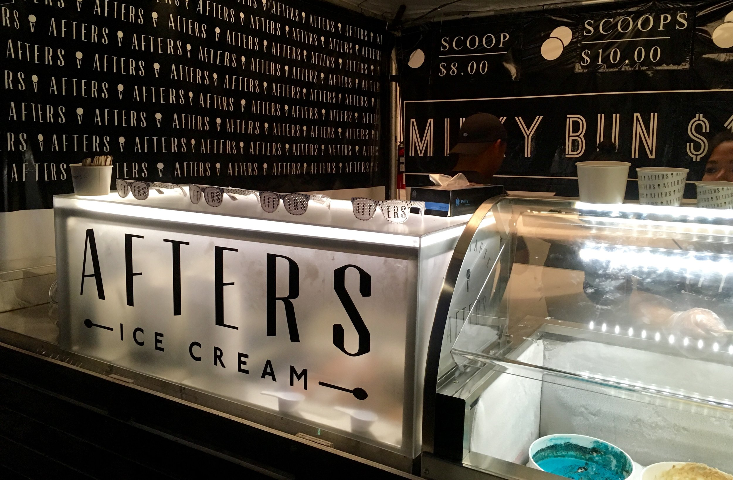 Afters Ice Cream Music Festival Set-Up