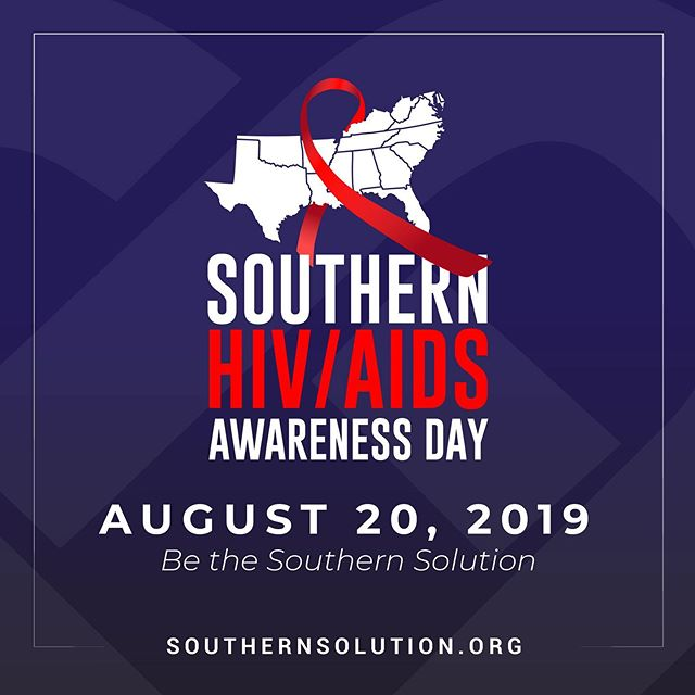 Today, August 20th, marks the first ever Southern HIV/AIDS Awareness Day, to draw attention to disparities in new cases of #HIV impacting the southern United States. Get Tested https://www.aidupstate.org Go to http://southernsolution.org to learn more. #SHAAD #AIDS #aidsstigma #hivpositive