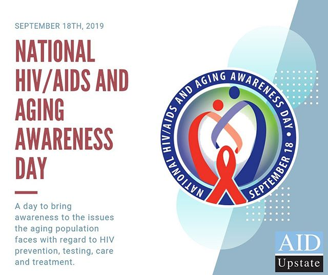 Today is National HIV/AIDS and Aging Awareness Day. read about aging with #hiv on our website page: https://www.aidupstate.org/events/nhaad of you're in need of testing, prevention education, HIV treatment contact us. We are here to help you. #hivandaging #hivpositive #aidupstate #yeahthatgreenville #gvltoday