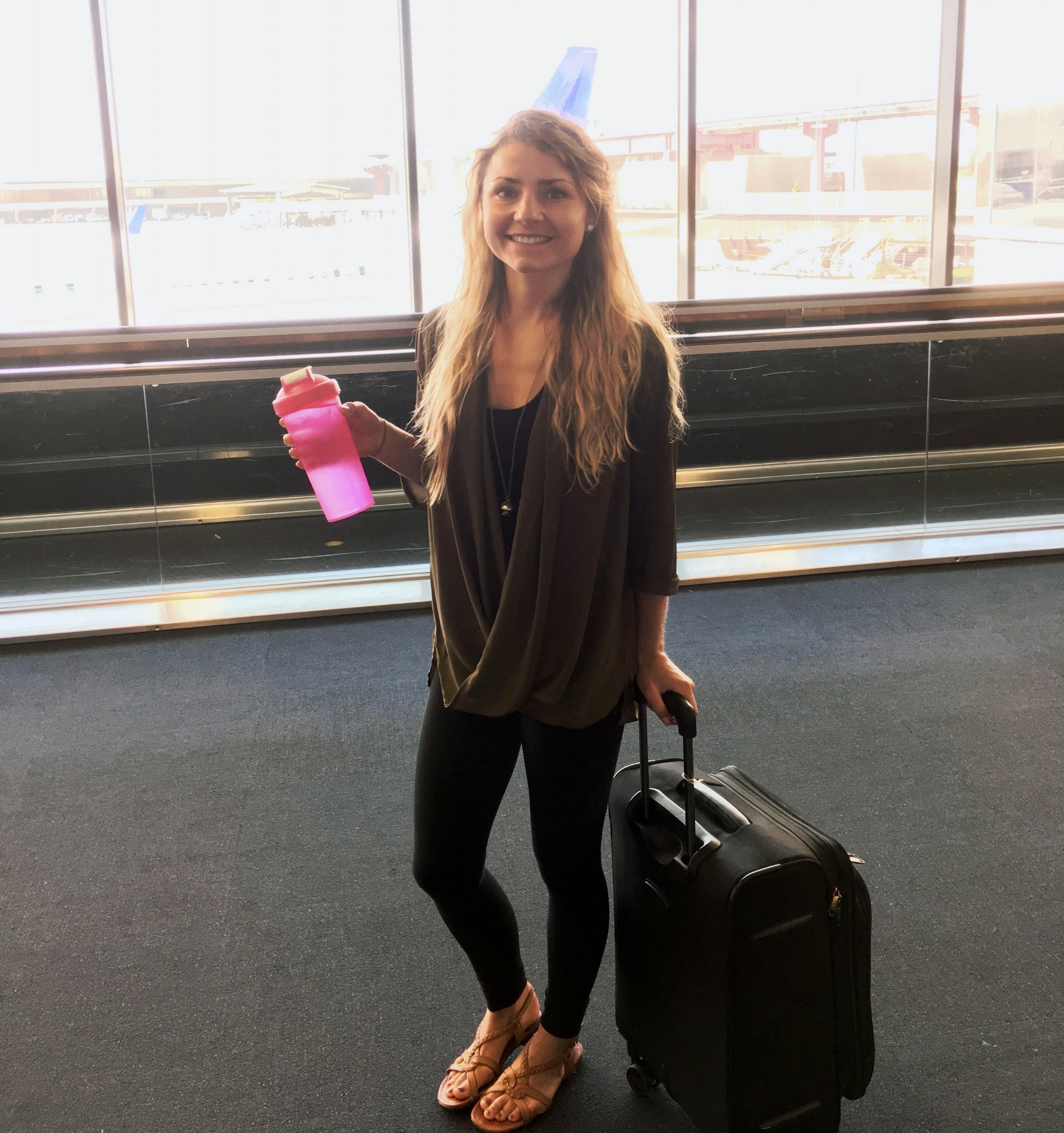 Travel Tips: Hydrate and Comfy Clothes