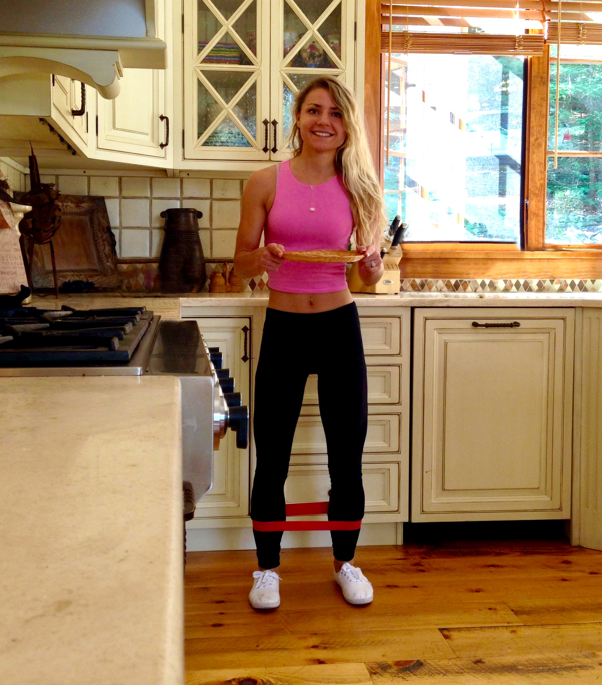 Burn calories in the kitchen