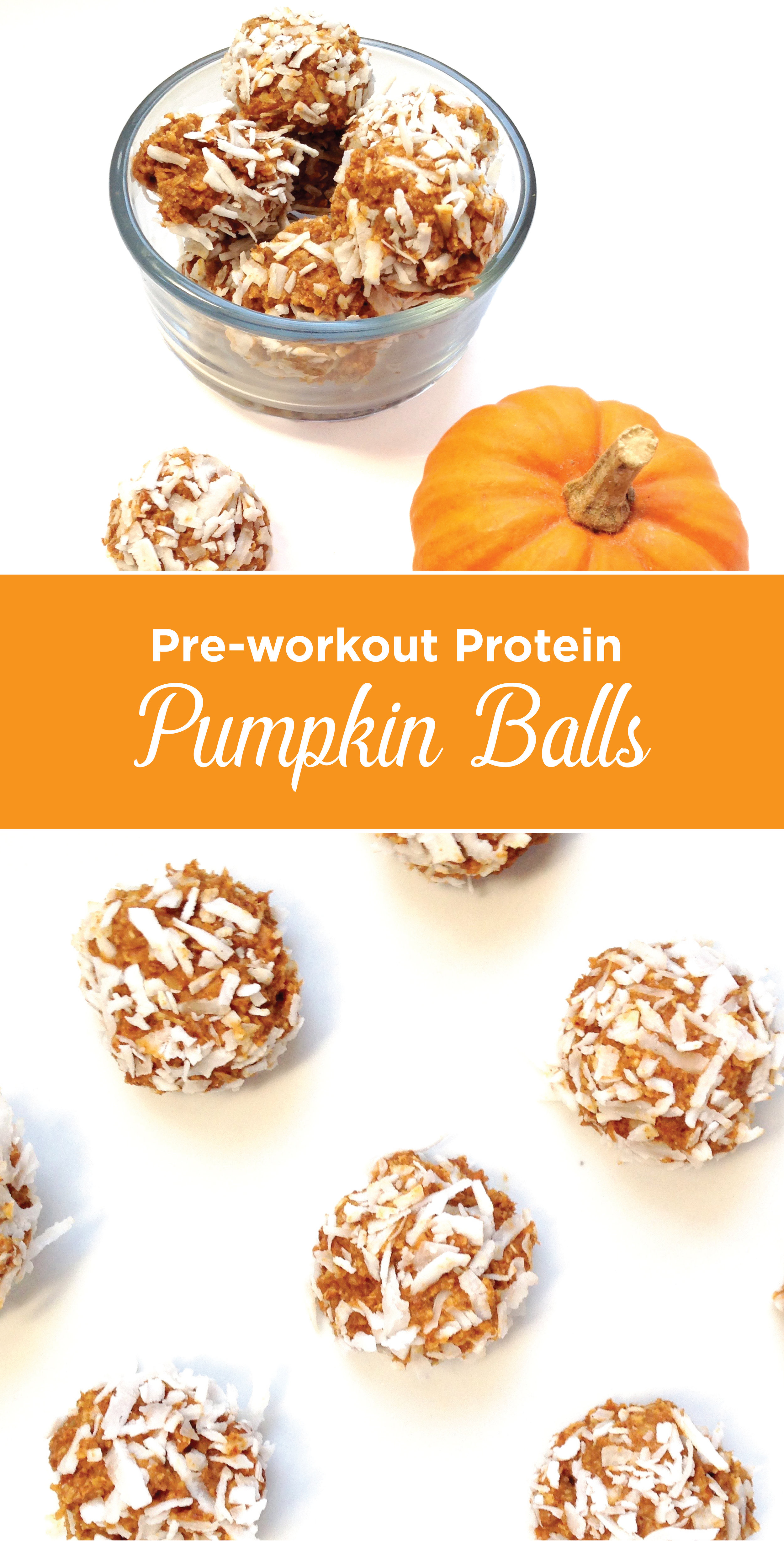 Protein Pumpkin Energy Balls. Satisfying and delicious! Stay fit and skinny and have a treat too!