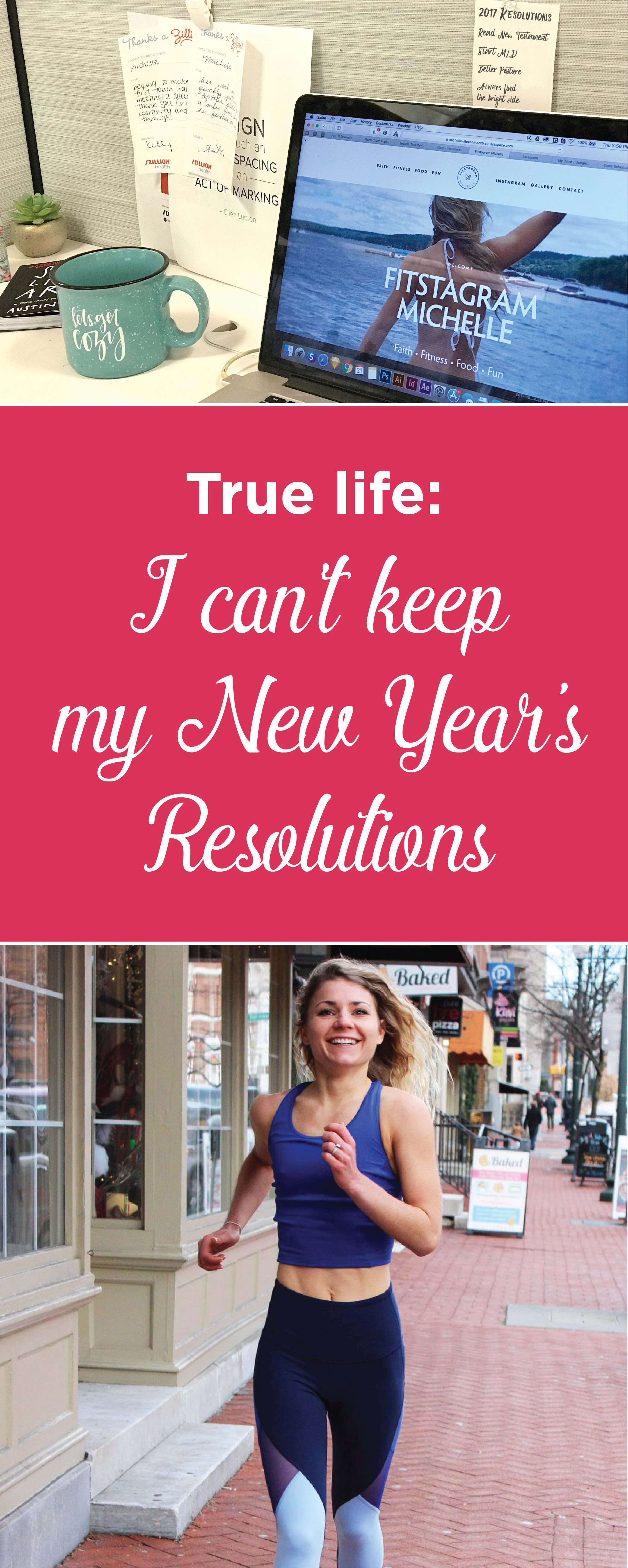 True life: I fail at keeping my New Year's Resolutions. See how I overcame the normal traps and allowed myself to set goals and keep them.