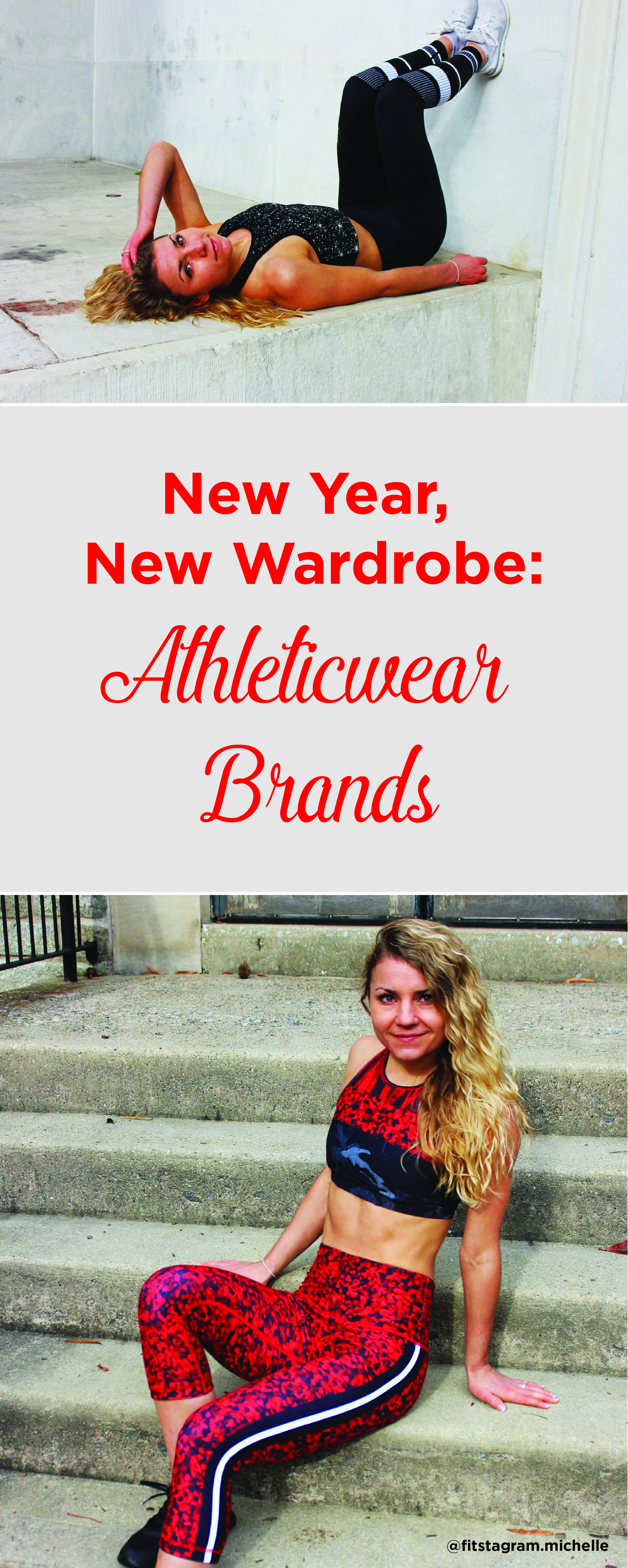 New Year, New Wardrobe. Assessing my favorite activewear brands! New workout clothes is a great motivation to get to the gym!