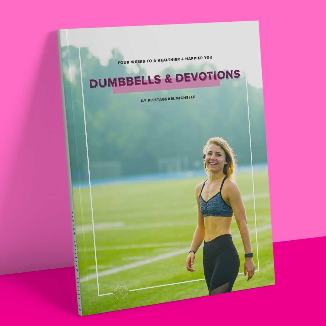Dumbbells & Devotions and FREE four-week guide full of workouts, recipes, devotionals and more! Get lean and grow in your faith.