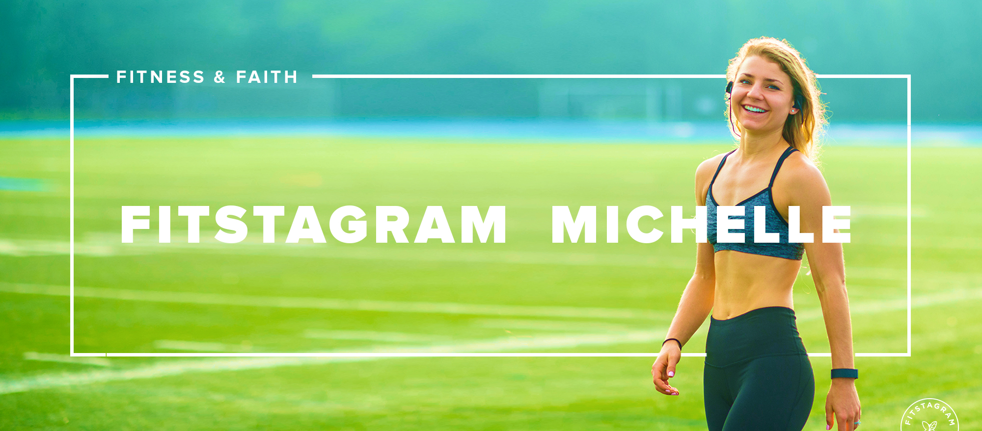 Fitstagram Michelle is a faith and fitness blogger with programs to help women know their worth and get fit