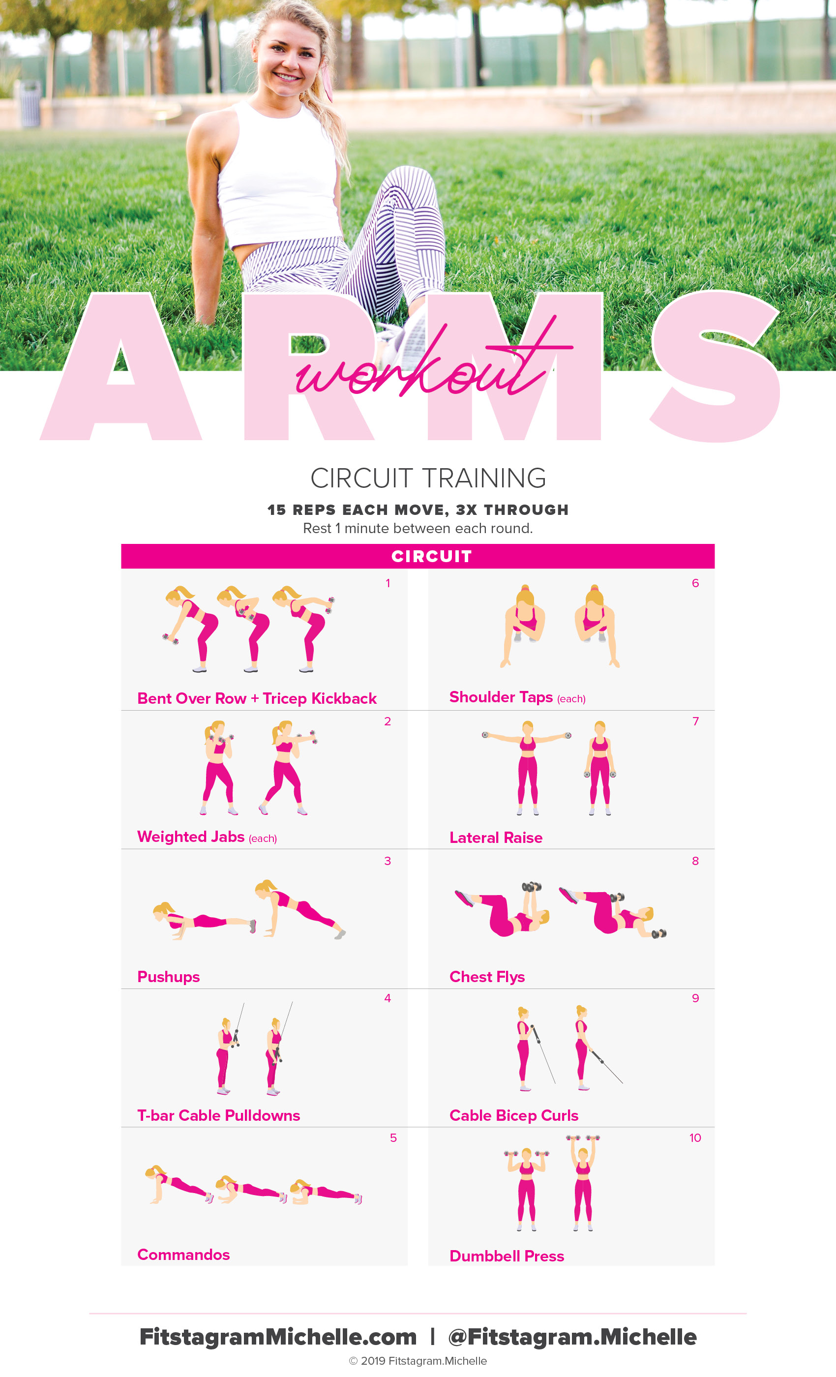 Get Toned arms with this workout for women. ten moves to tighten your arms and reveal lean gorgeous muscles.