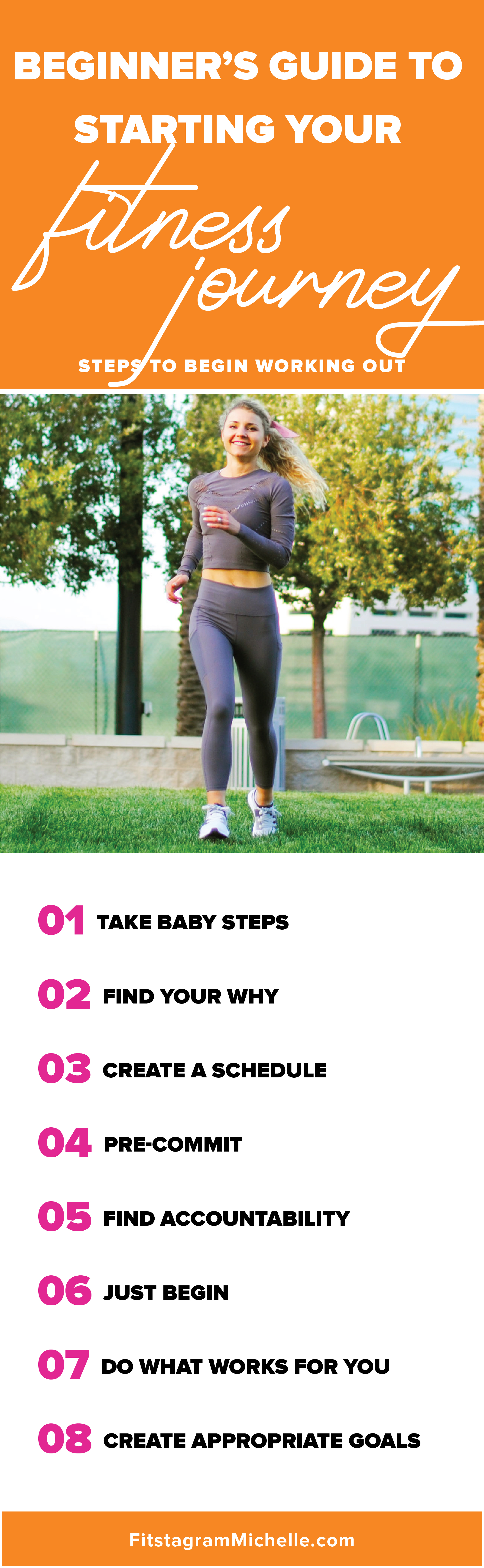 Beginner's guide to starting your fitness journey. Follow these tips to learn how to begin working out and ensure you are best equipped for results.