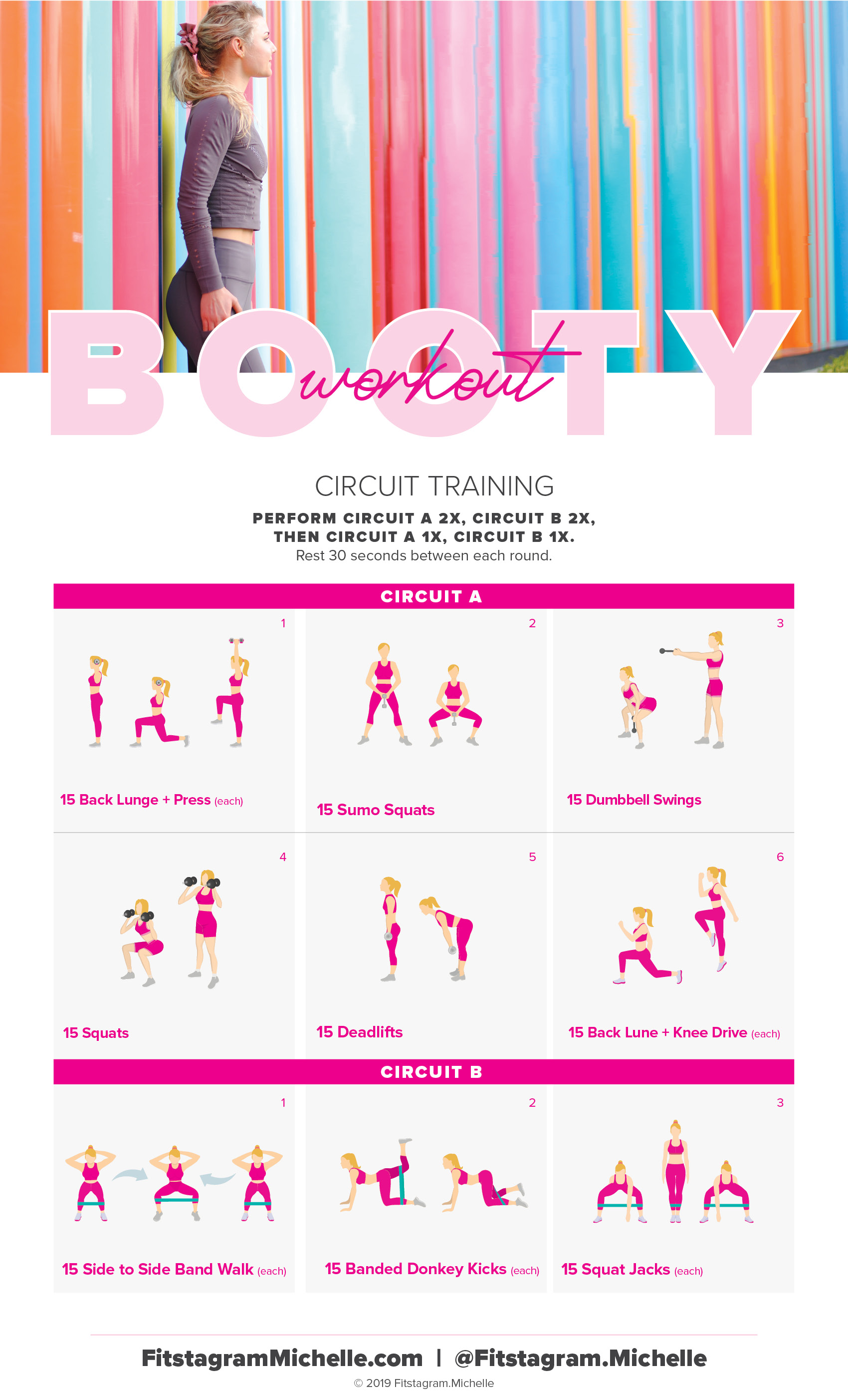Try this circuit workout to tone your booty and get it to pop. This Toned butt workout you can perform at home with a single set of dumbbells. Grow your butt, and tone it up.