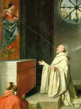 Alfonso Cano, the Vision of St. Bernard, 1650