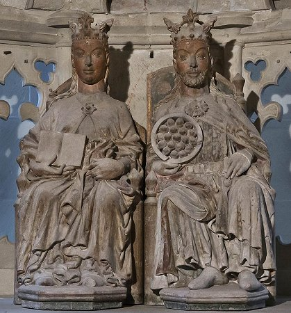 Otto the Great and Editha, photo: Wolfgang Guelcker .Visit his amazing website for extensive photo galleries: http://guelcker.de/