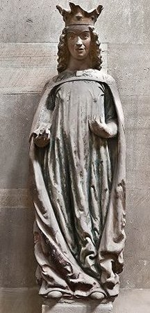 St. Catherine of Alexandria photo: Wolfgang Guelcker .