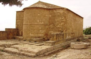 San Biagio on foundation of Demeter temple in Agrigento
