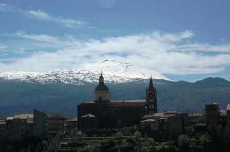 Santa Maria di Randazzo at the foot of Mt.Etna