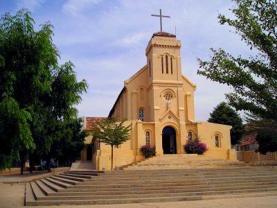 The church in Popenguine
