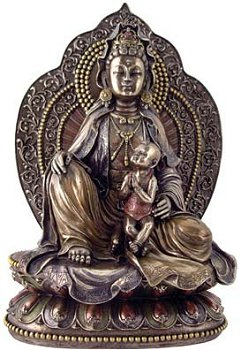 Kuan Yin with Child