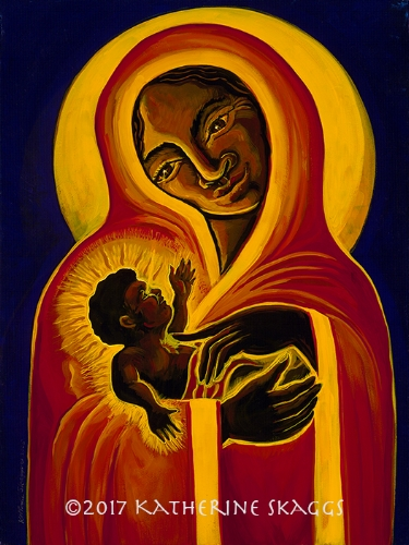 Black Madonna and Child