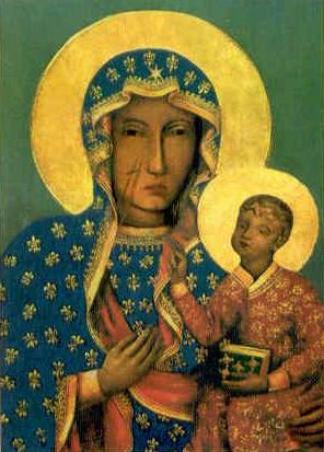 Our Lady of Czestochowa , Poland, said to have been painted by St. Luke the Evangelist