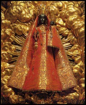 Nuestra Señora Negra de Einsiedeln, Suiza  Foto: P. Damian Rutishauser