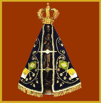Nossa Senhora Aparecida   , patrona de Brasil