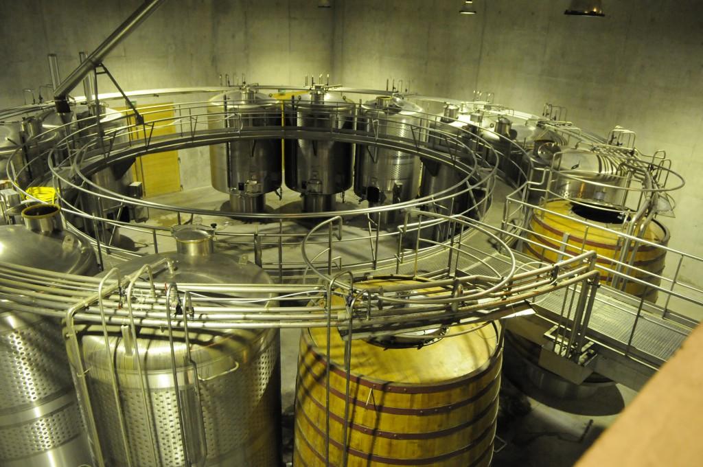 I vinkjellaren er planløysninga nøye gjennomtenkt og praktisk tilrettelagt. Foto: Nina Granlund Sæther