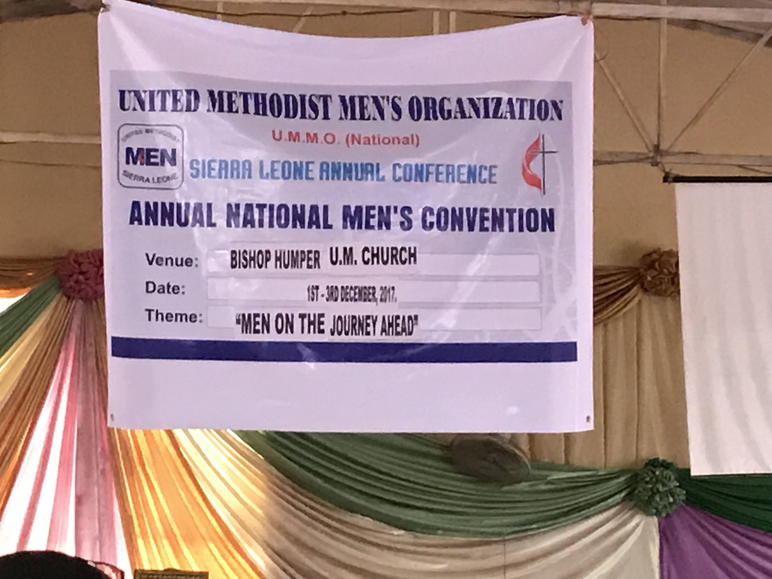 """The theme of the Men's Convention was """"Men on the Journey Ahead"""""""