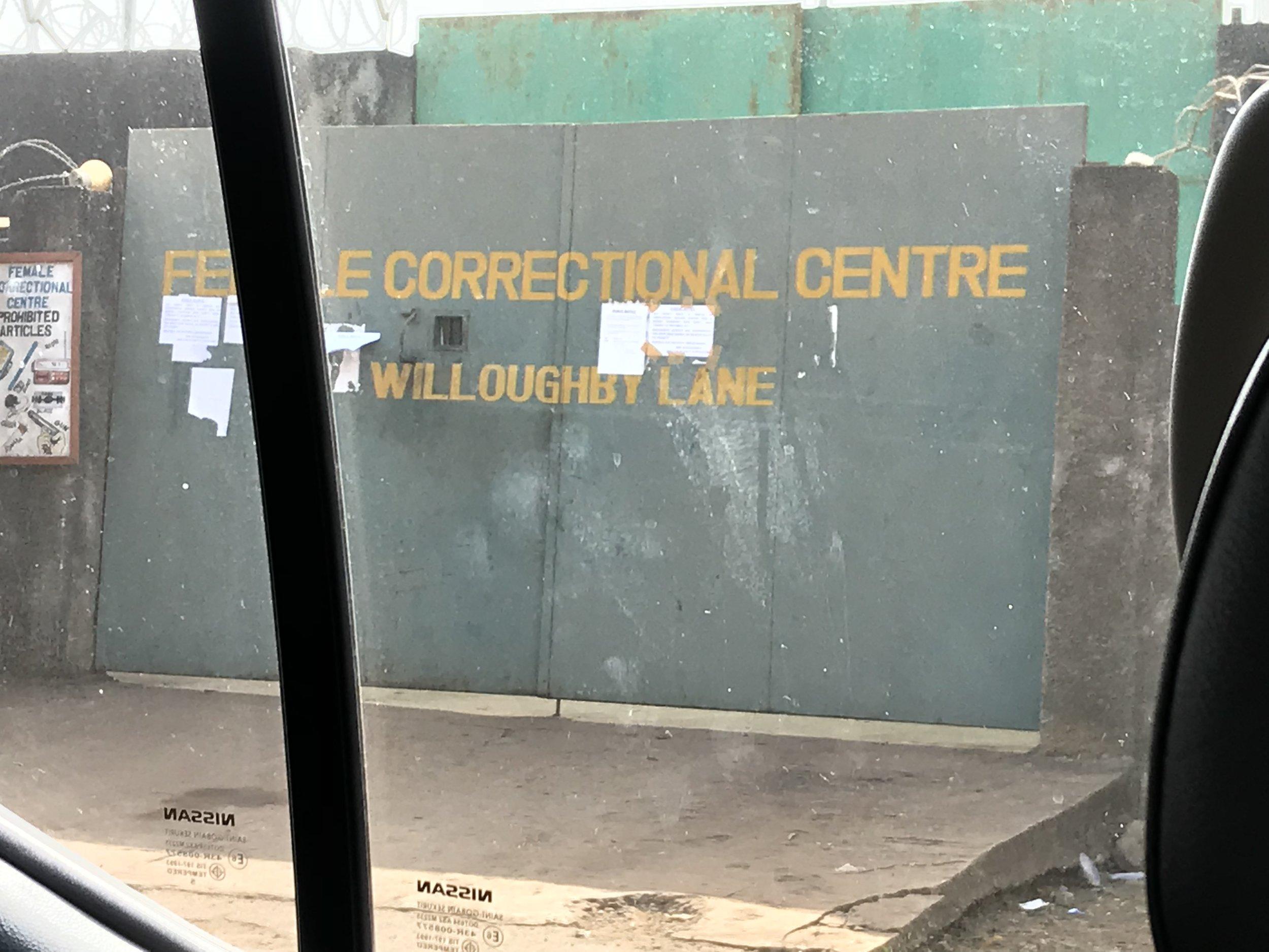 Female Correctional Center Gate, Freetown
