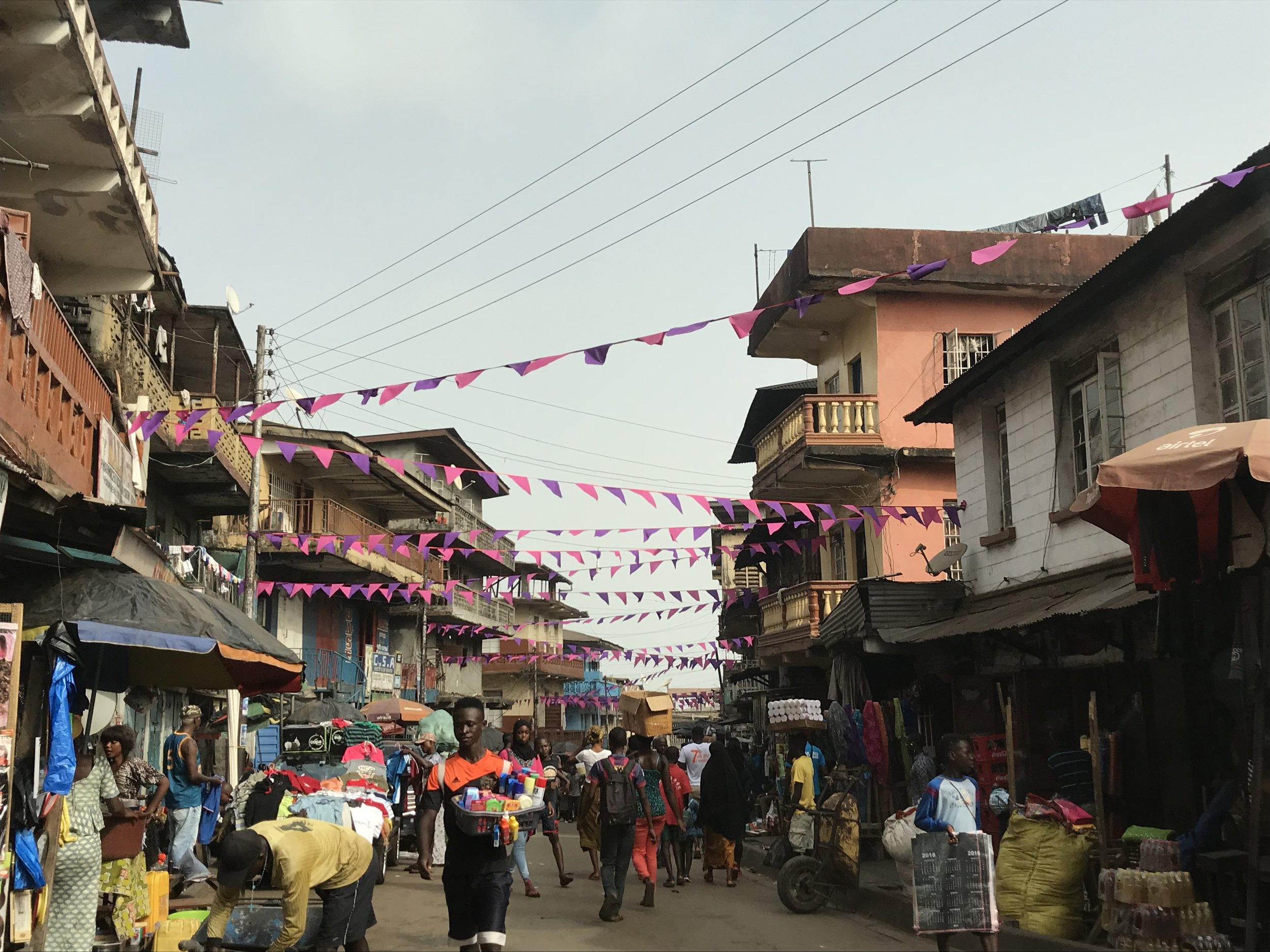 Christmas time in Freetown