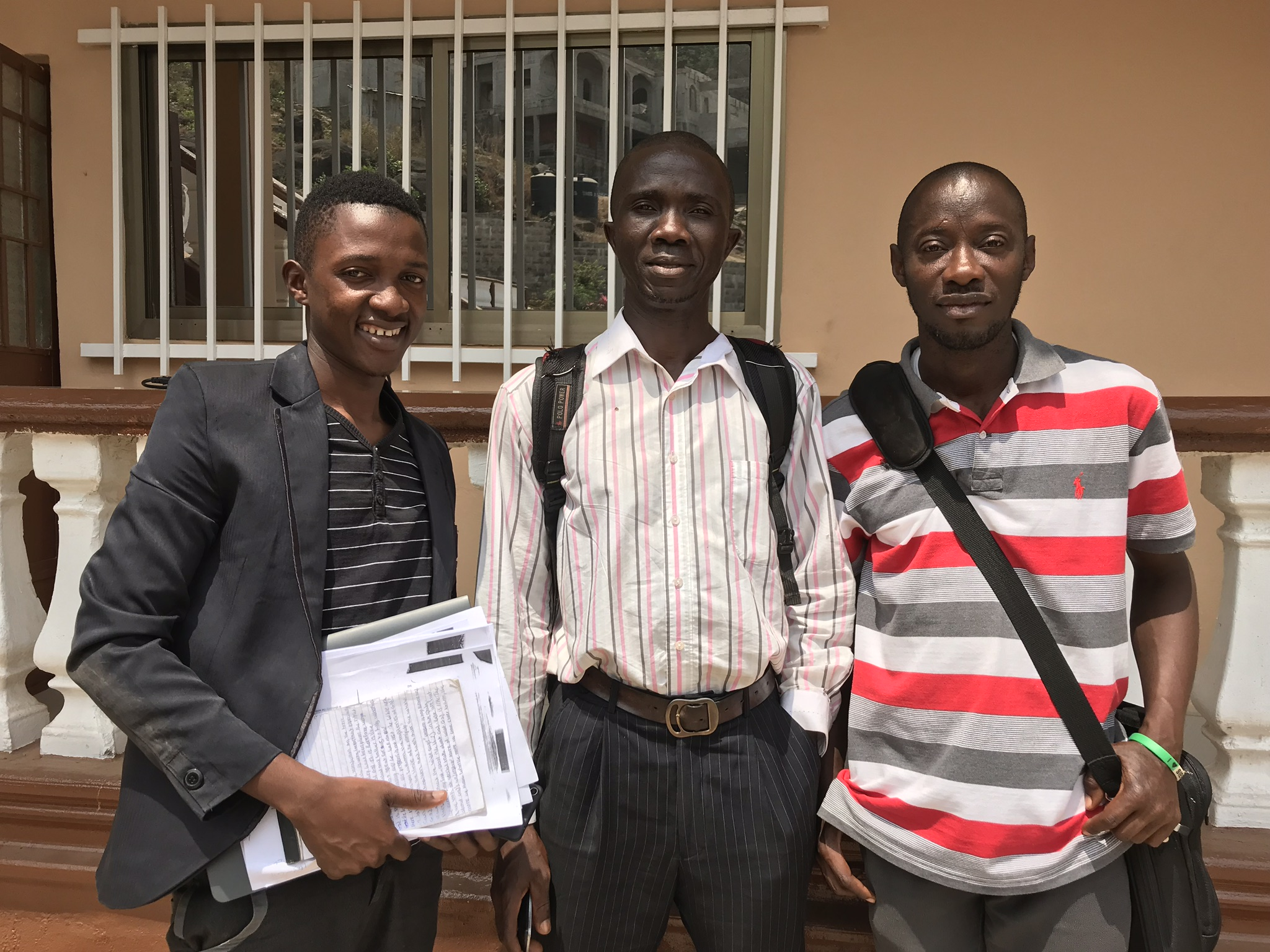 Students on the second day of their second semester at the Bishop Wenner School of Theology, UMUSL