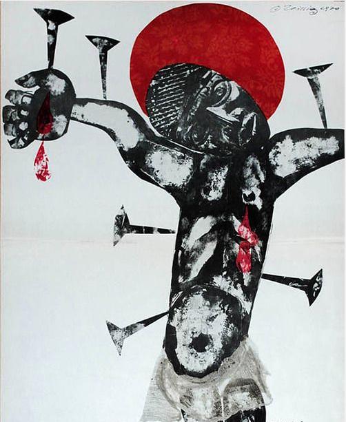 Karl Teissig's Black Jesus
