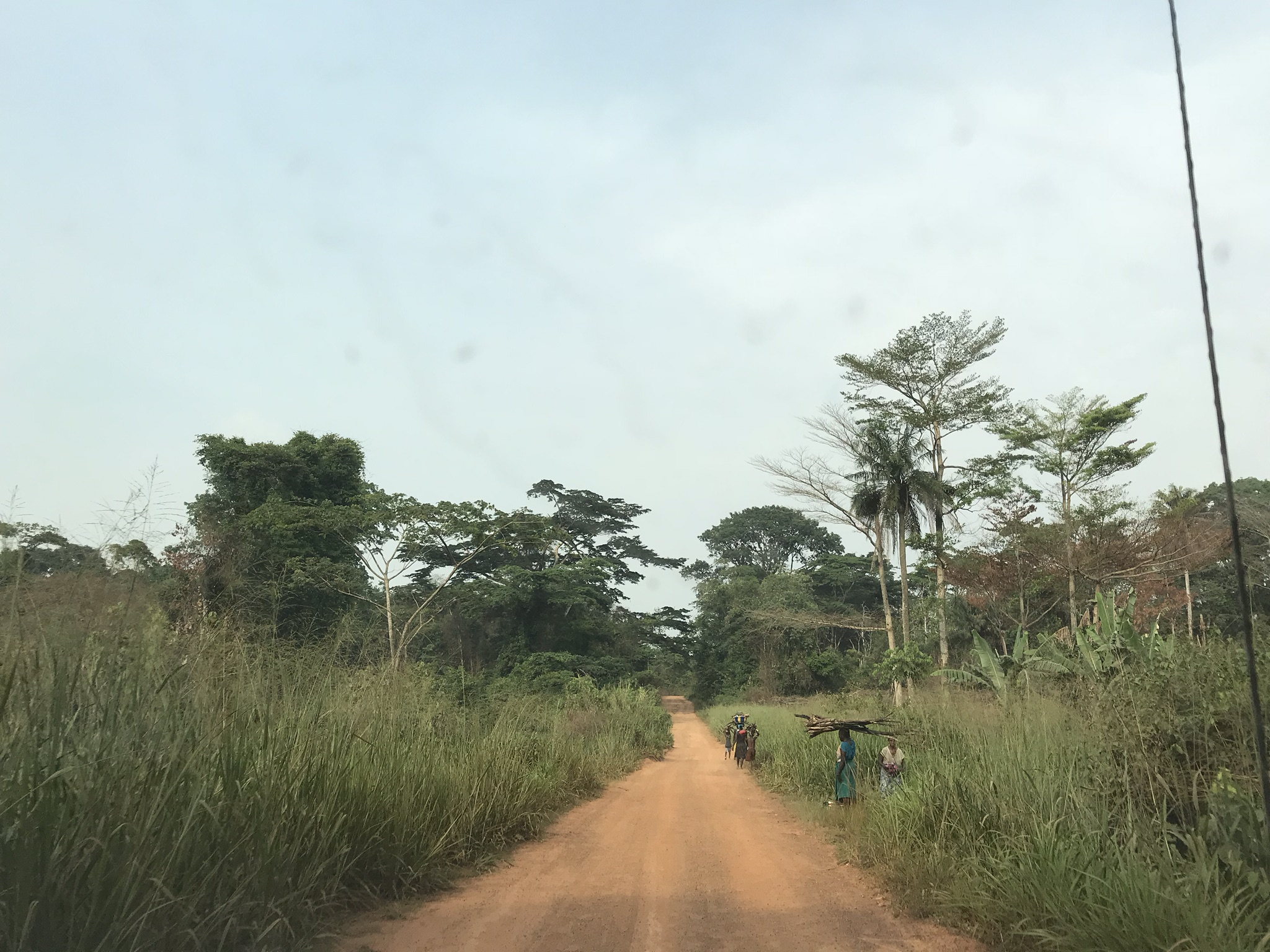 A smooth patch on the road to Kailahun