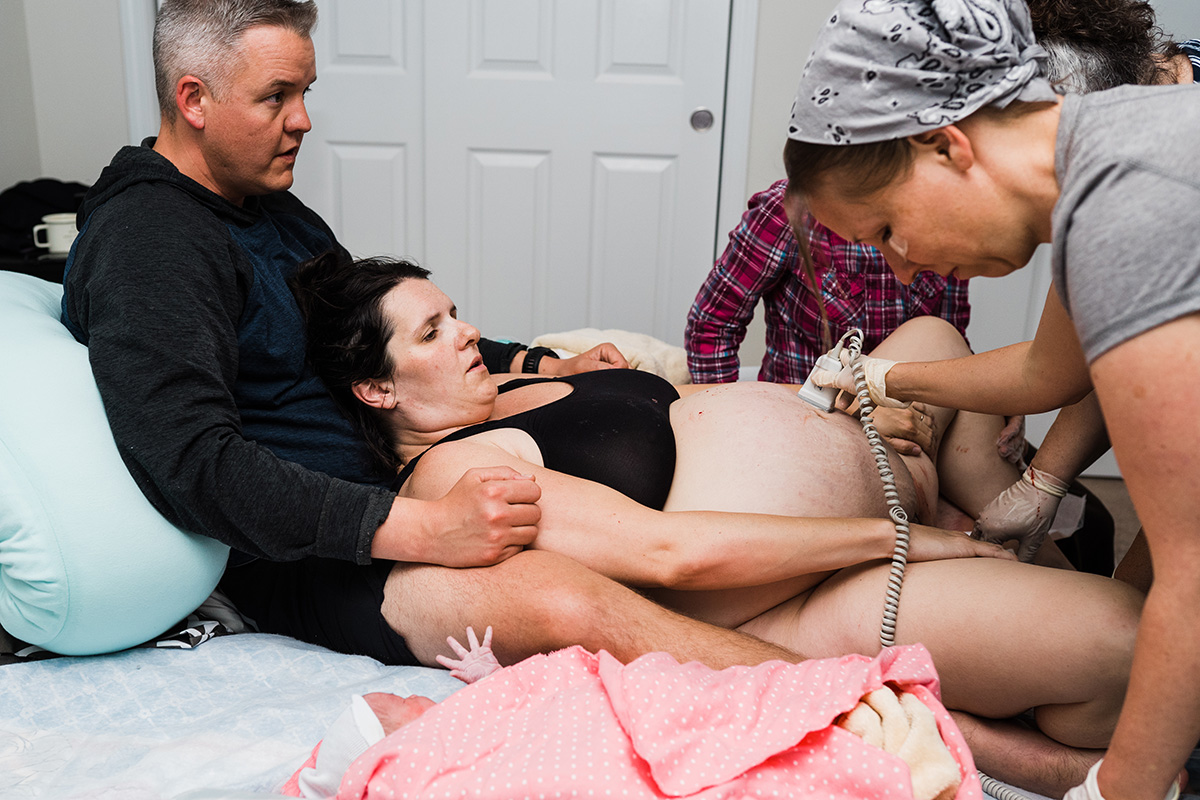 Home Birth Photographer Missouri